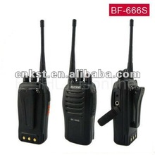 5 W BAOFENG <span class=keywords><strong>BF</strong></span>-666S UHF Walkie Talkie Tunggal Frekuensi/Band