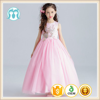 ed608e9c4 exclusive girls party dresses hot sale pink 8 year old kids baby little big  sizes dresses