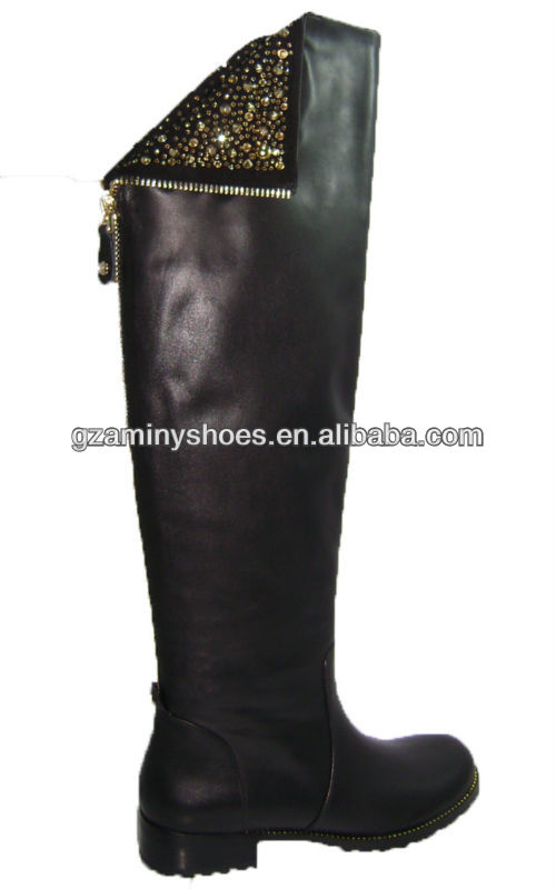 2013 Latest Womens leather boots