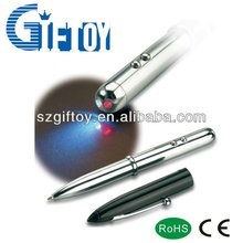 red laser and led torch pen