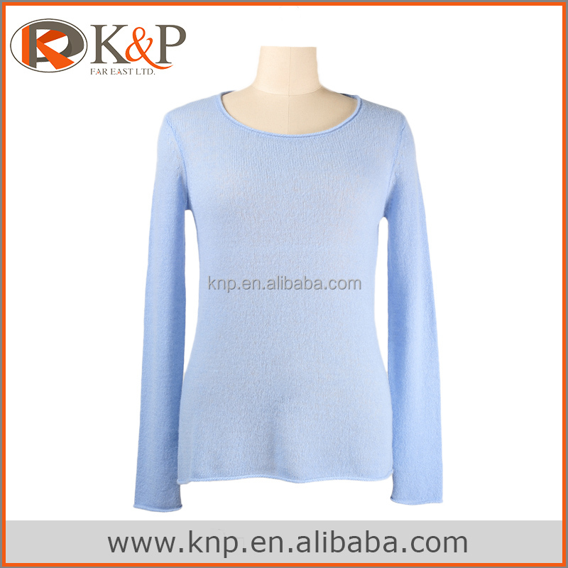 4141 Cashmere sweater pullover designs for ladies