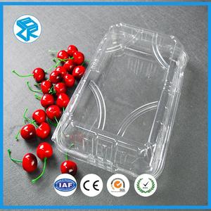 Customized Clam Shell Plastic Packing Box For Fruit