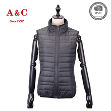 2016 Women Ultra Light Packable Vest For Winter