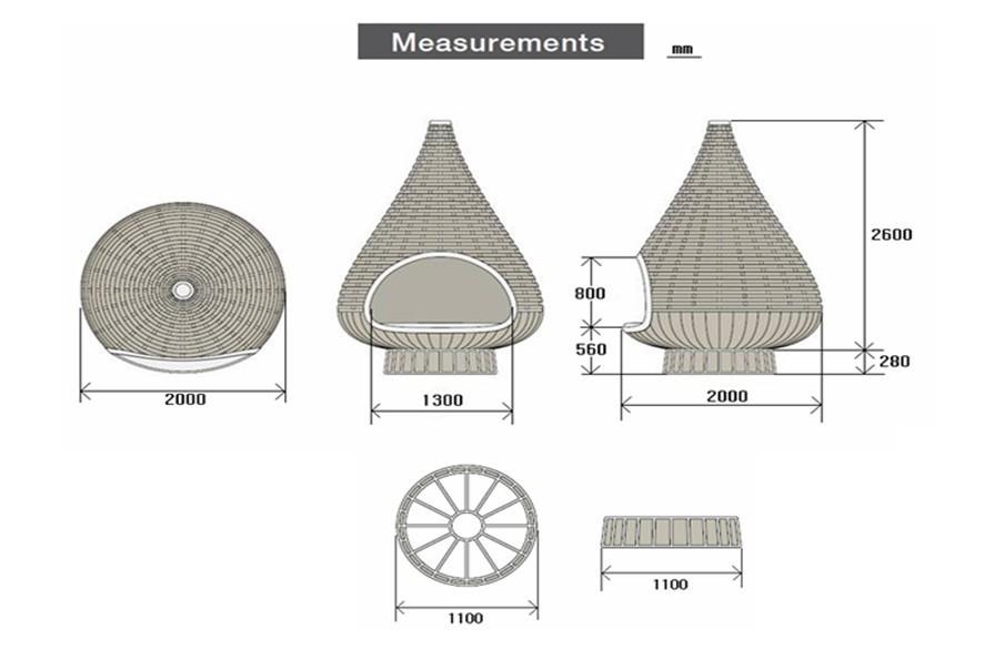 Outdoor Dusche Rattan : nestrest outdoor rattan h?ngematte-H?ngematte-Produkt ID:60105213551