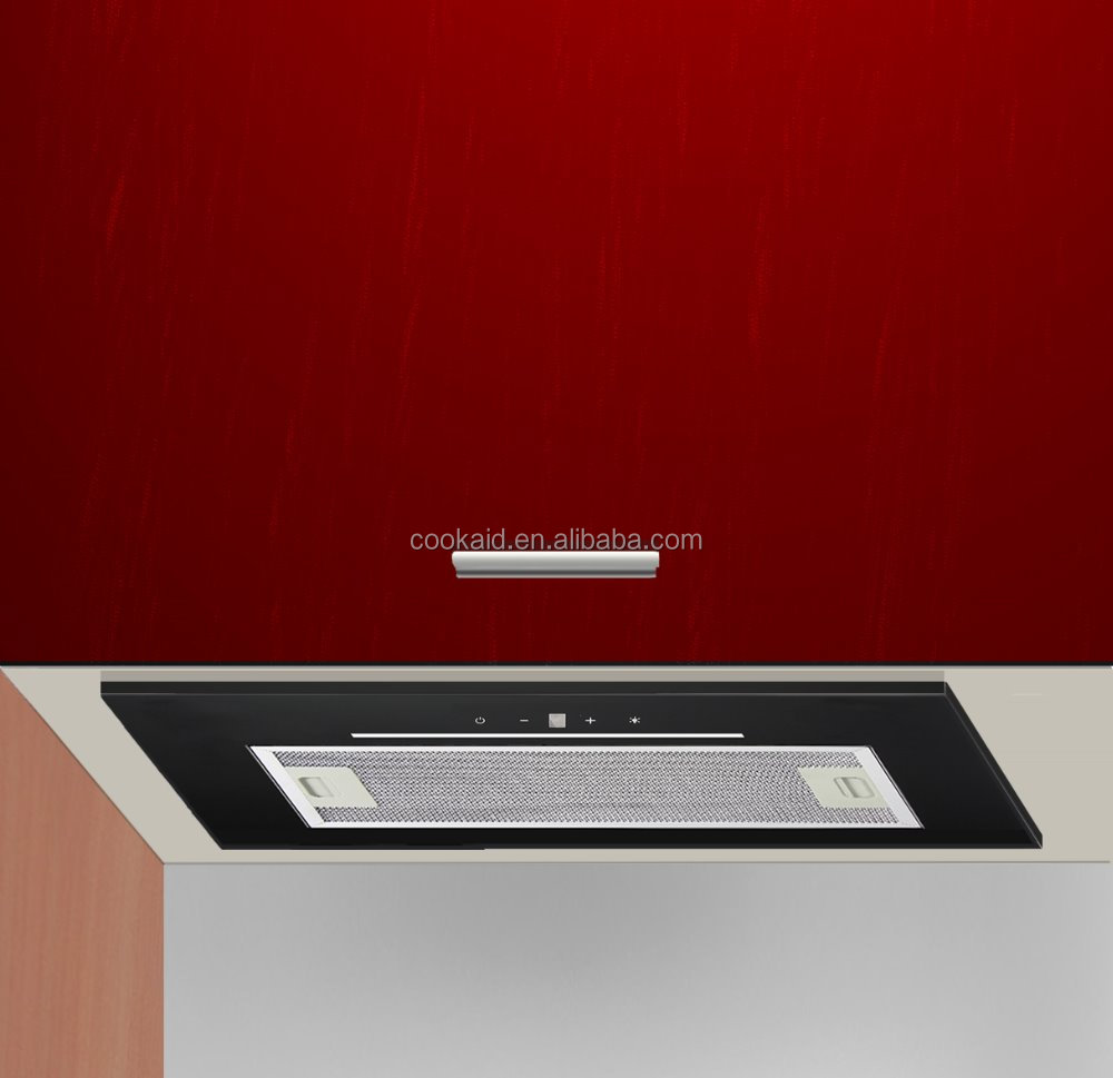 integrated built in kitchen extractor hood