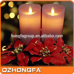 2015 Sedex Factory Waterproof Battery Operated Cheap Led Candle For Church