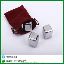 Square 304 stainless steel wine chilling stick mini ice cube for party decoration