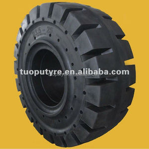 Rubber Front Crane Solid OTR 20.5-25 Big Loader Tyre