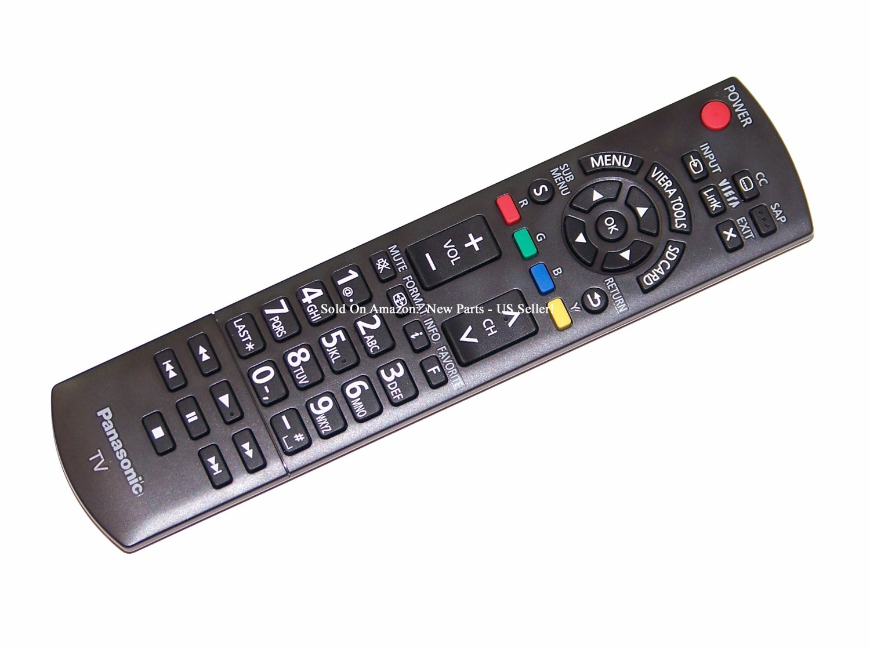 Panasonic Remote Control for TC-50PX34, TC-P42S30, TC-P42X3, TC-P46S30, TC-P46ST30, TC-P46X3, TC-P50S30, TC-P50X3, TC-P60S30