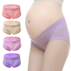 Cotton Pregnancy Maternity Panties Women Underwear pregnant women clothes U-shaped Briefs for Pregnant Women
