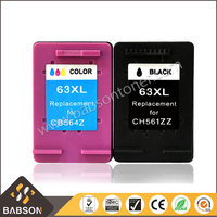 Wholesale compatible printer ink cartridge 63XL for HP 2130 printer