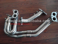 stainless steel exhaust system for Subaru WRX2001-2006