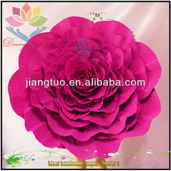 Pretty color indian giant paper flowers for wedding buy indian pretty color indian giant paper flowers for wedding mightylinksfo