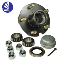 Trailer Wheel hub/ Galvanized Trailer Hub Kit /Hub Repair Kit Assembly Stud with 7/16-20 Electric brakes