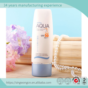 block packaging tube for sun tan, whitening special Sun BB Cream, Icy & Hydrating Moisturizing Water Proof Sunscreen Cream