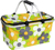 Portable folding shopping baskets for sale, good quality collapsible picnic shopping basket with aluminium handle