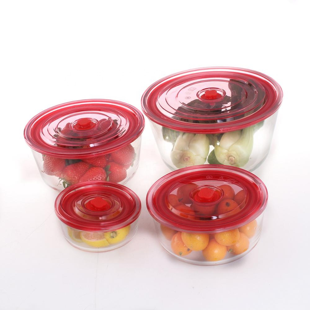 Tiffin Lunch Box Vacuum Sealed Food Container for Cereal Flour Sugar Coffee Rice Nuts Snacks Food