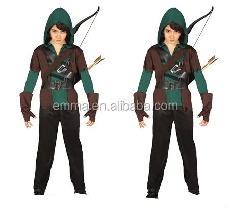 Kids Green Arrow Costume Boys Robin Hood Fancy Dress Outfit Assassin Age 4-12 SC5347  sc 1 st  Alibaba & Kids Green Arrow Costume Boys Robin Hood Fancy Dress Outfit Assassin ...