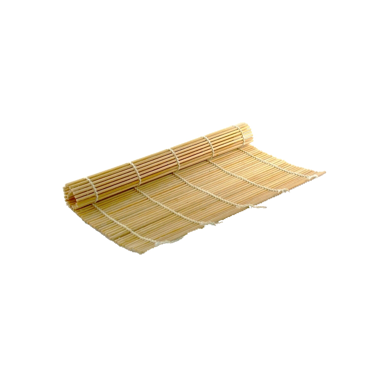 Bamboo wood handicraft sushi placemat cuisine roller