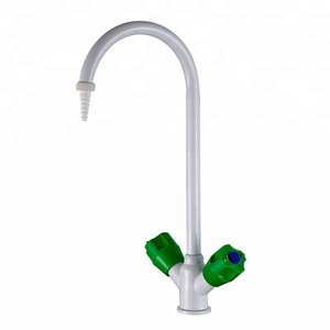 Guangzhou goosen long neck PP handle lab cold water faucet/ tap