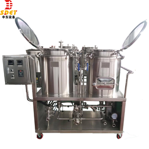Auto PLC Control nano brewery home beer brewing Beer brew kit