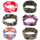 Camo Fabric Turban Baby Headband Kids headband