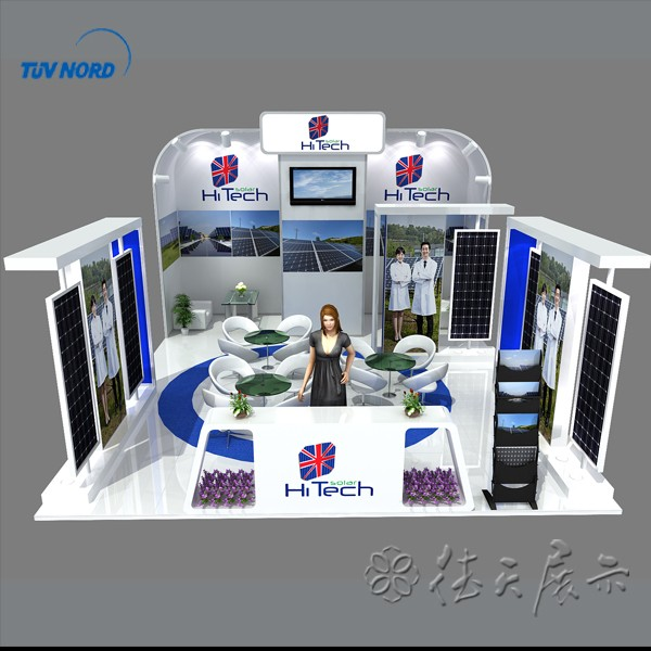 3D MAX sistem booth pameran dagang stan pameran