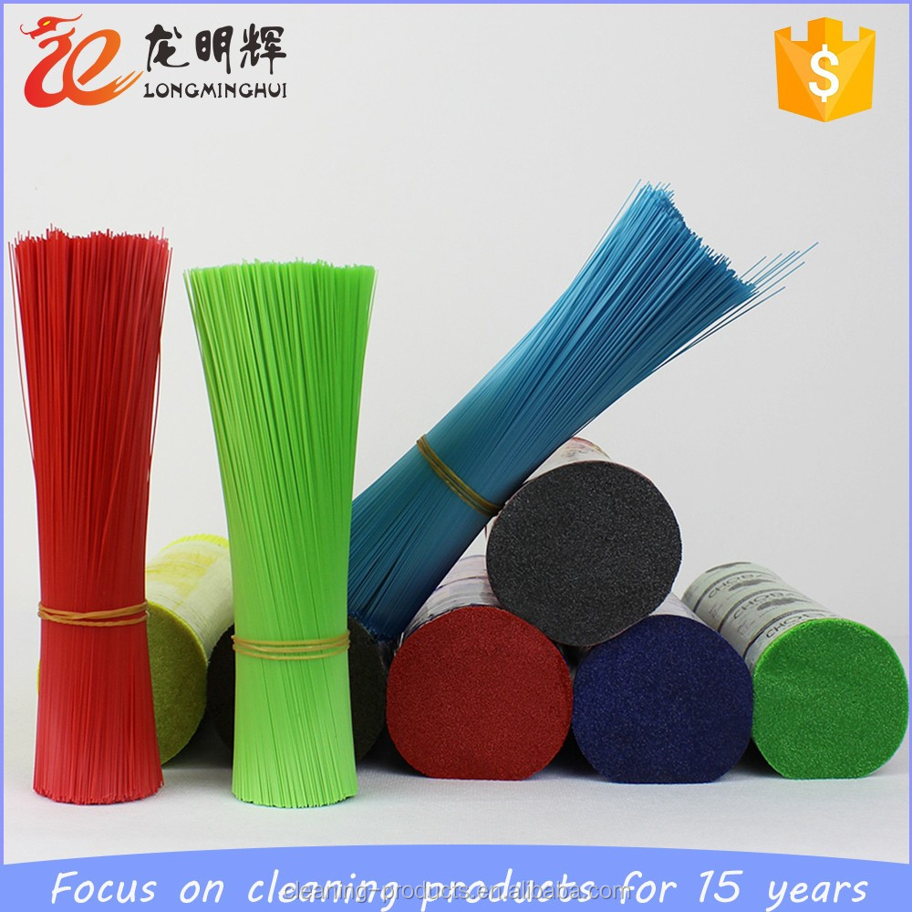 cost-effective PP PET plastic flaggable broom brush bristle filament
