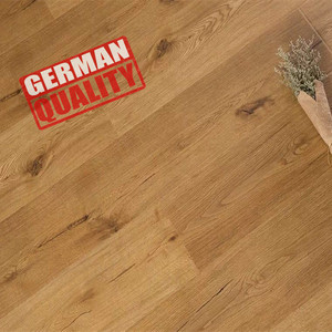 Hot sale 8mm v groove solid color laminate flooring cherry oak wood