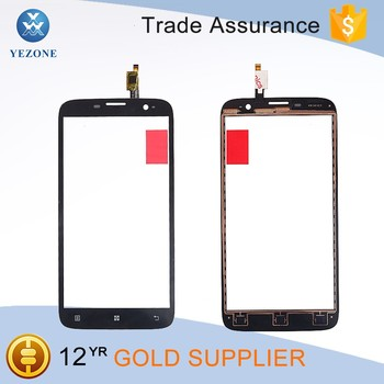 Replacement Black Front Glass For Lenovo A850 Mobile Phone Touch Screen