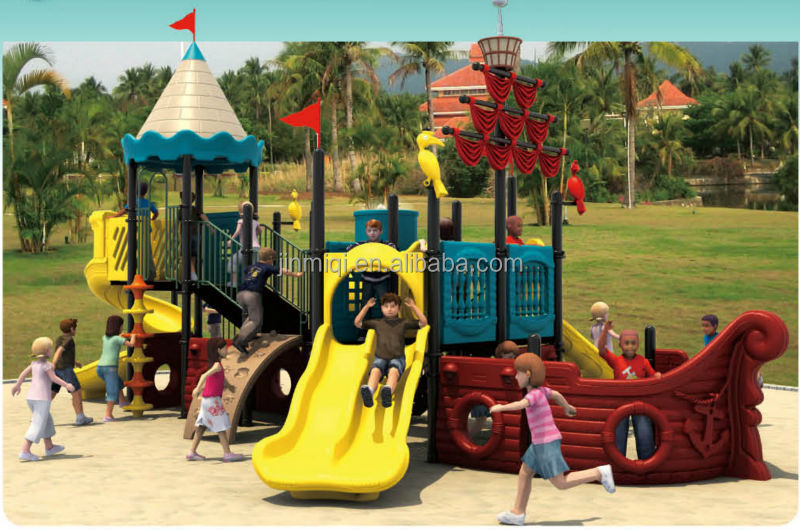 JMQ P054A Children Train Playground, Outdoor Playground Train Items Price