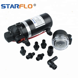 STARFLO DP-80 5.5 LPM 80 PSI 12V dc electric pressure washer pump for car wash
