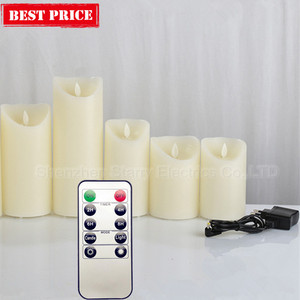 hot selling usb rechargeable led candle diwali diya