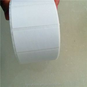 waterproof blank pvc vinyl sticker label roll