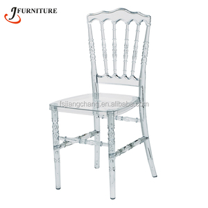 Wholesale Clear Resin Napoleon Chair For Sale