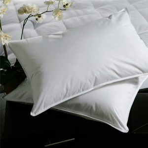 Factory feather duck down pillow inserts/decorative pillows/down filled cushi hotel use