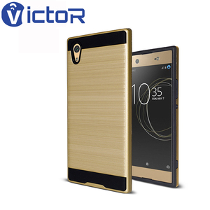2018 NEW guangzhou factory mobile phone brushed PC and TPU two in one cases for INFINIX X552