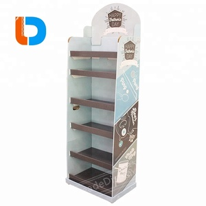Modern Design Durable and Portable Cardboard Floor Standing Display Units For Condom