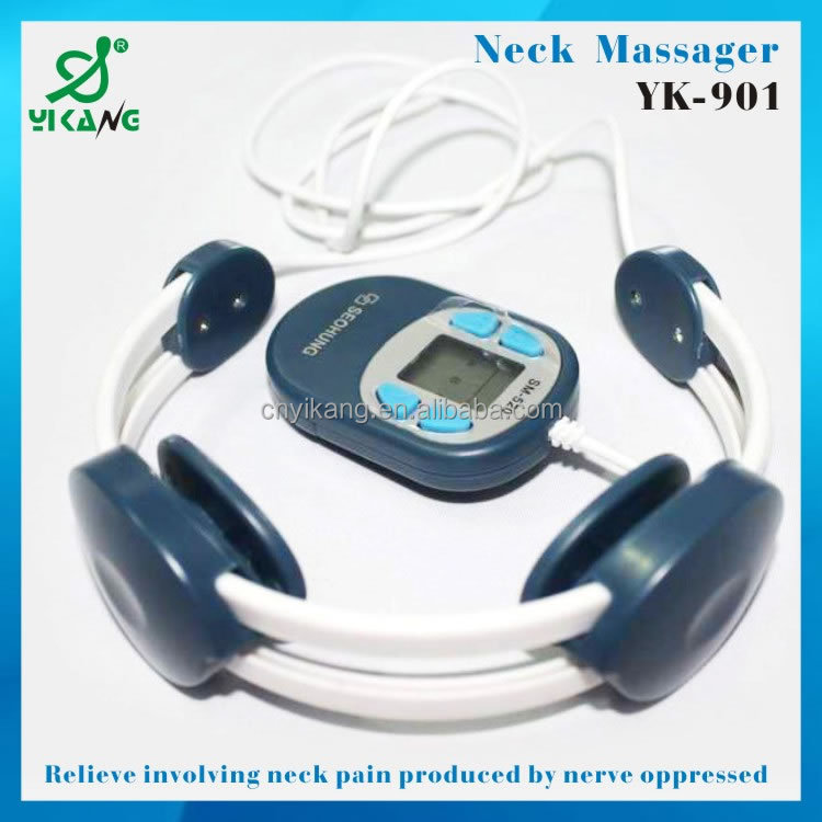 Electronic Portable Mini Acupuncture Simulation Massager Low Frequency Pulse Massager Portable Electric Massager YK-520