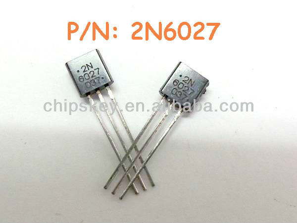 2N6027 Thyristor PUT 40V 5A 3-Pin TO-92 Bulk