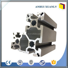 Different Shape extruded 6063 aluminum alloy