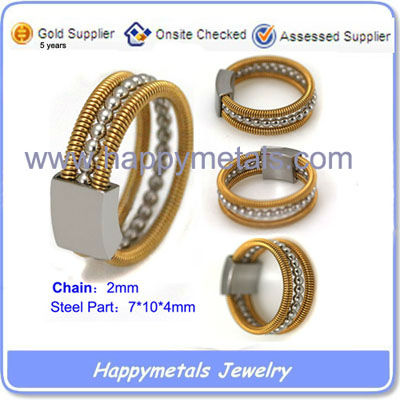 2015 Fashion Ring Jewlry in Stainless Steel R0110