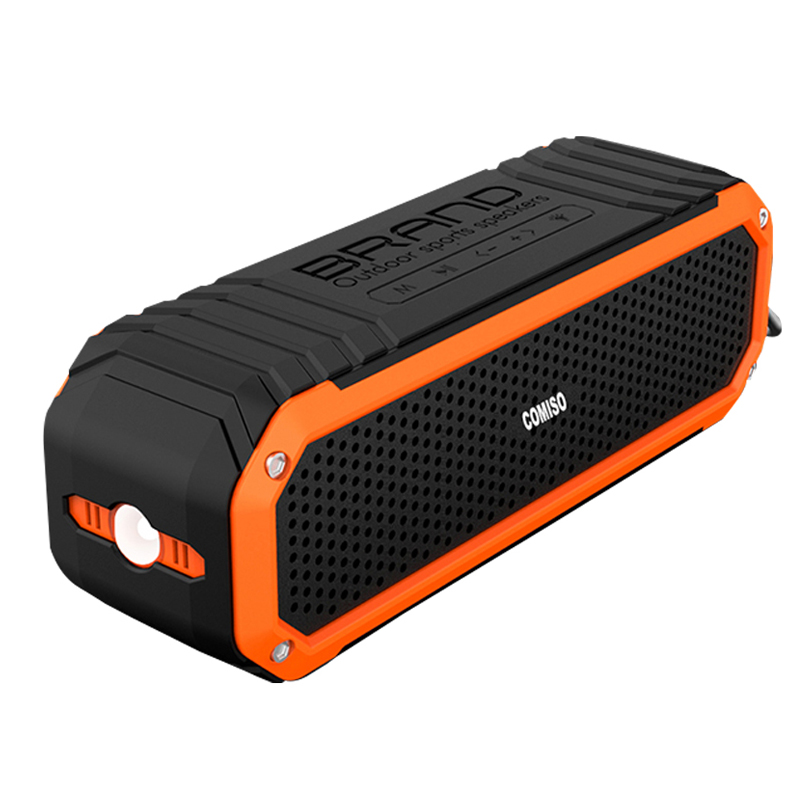 Meest hot populaire C26 woofer waterdichte led lamp bluetooth speaker met MVO 4.0