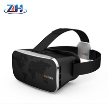 High quality Resist Blu-ray Virtual Reality Headset 3D Glasses VR PARK-II Google Cardboard 3D VR Headset Virtual Reality