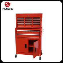 Hongfei Custom Stainless Steel Tool Storage Cabinet with Wheels Manufacturer with 21 years experience from Jiangsu