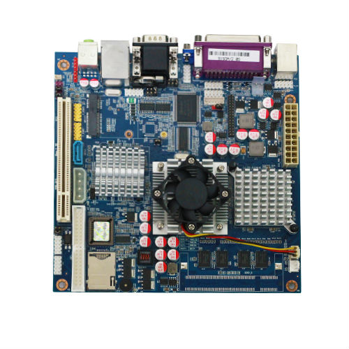 Intel 915GM 2M/4MB, CPU integrated main board /motherboard with Integrated VGA/1000M network card/sound card/extended PCI/LPT