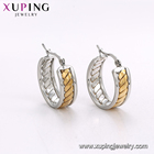 Huggie Earrings E-586 Xuping Stainless Steel 2 Tone Elephant Design Gold Color Hoop Women Imitation Jewelry Earing