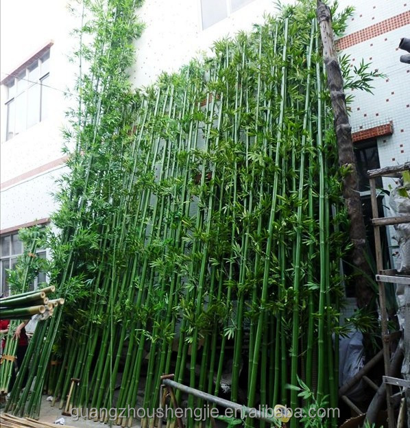 Sjlj013309 Big Artificial Bamboo Stick / Painted Bamboo Pole For ...
