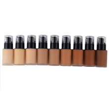 2019 cina fornitore <span class=keywords><strong>impermeabile</strong></span> vegan matte foundation trucco private label fondotinta liquido
