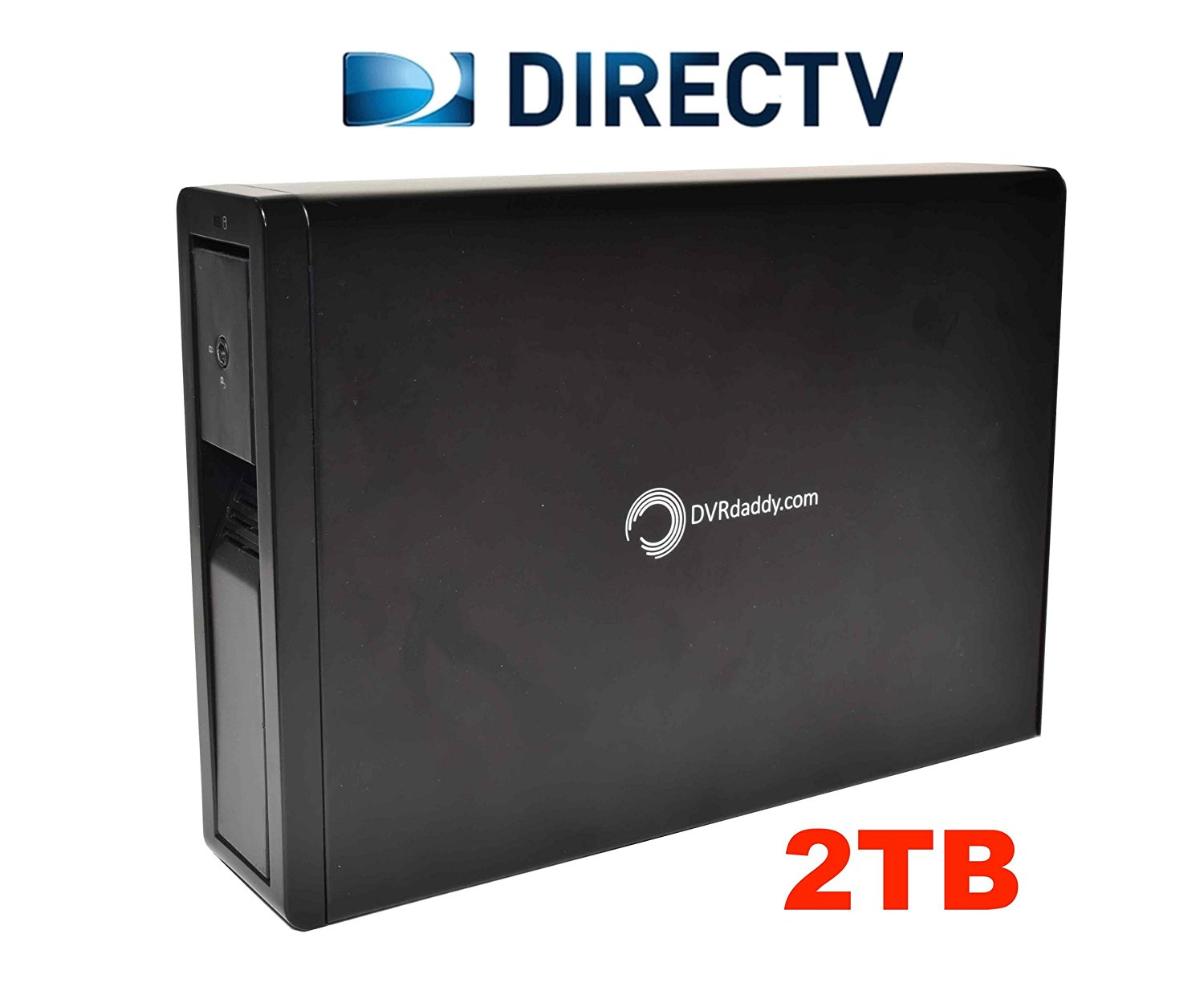 2TB External DVR Hard Drive Expander For DirecTV HR20, HR21, HR22, HR23, HR24, HR34, HR44 Genie DVR. +2000 Hours Recording Capacity and Free Shipping!